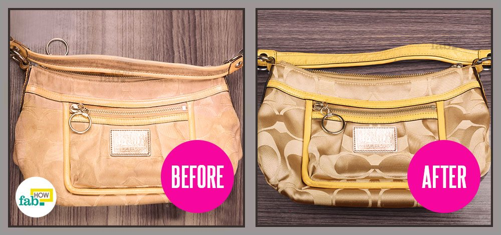 how to clean your coach handbag and make it look new rh fabhow com