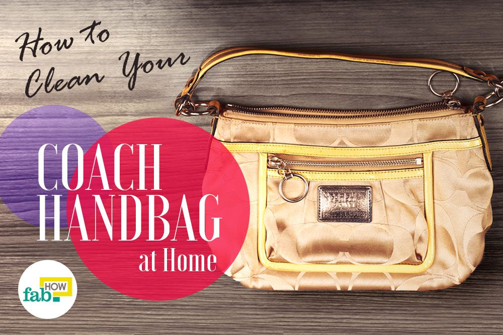 Clean Your Coach Handbag