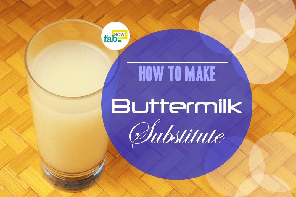 how to make buttermilk easy to drink