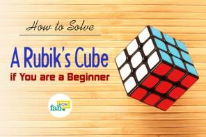 Solve Rubik's cube