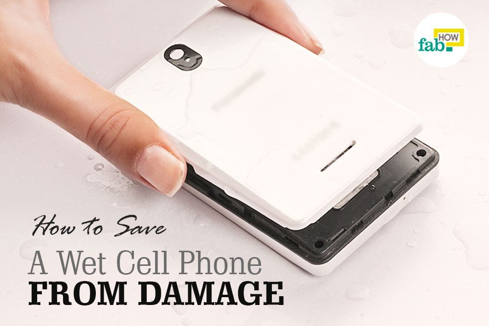 fix wet cell phone