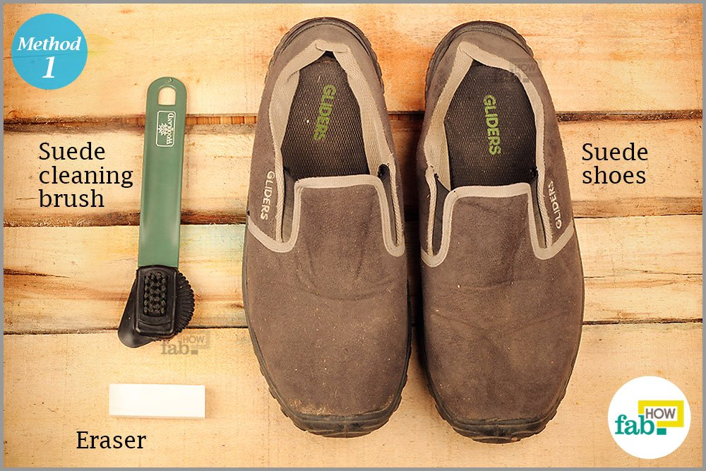 Things Needed To Clean Your Suede Shoes