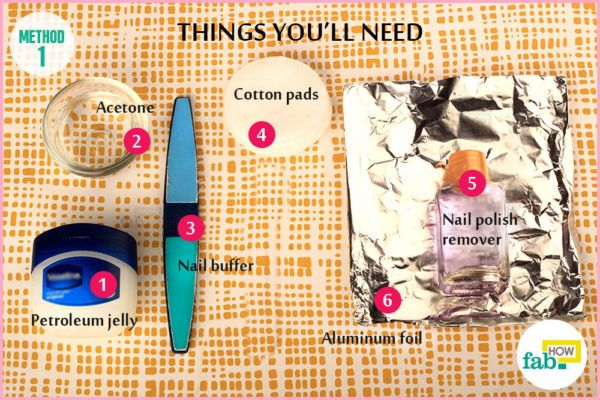 Method 1 things need