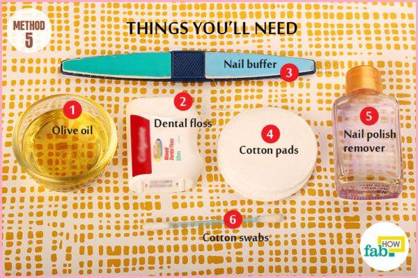 Method 5 things need