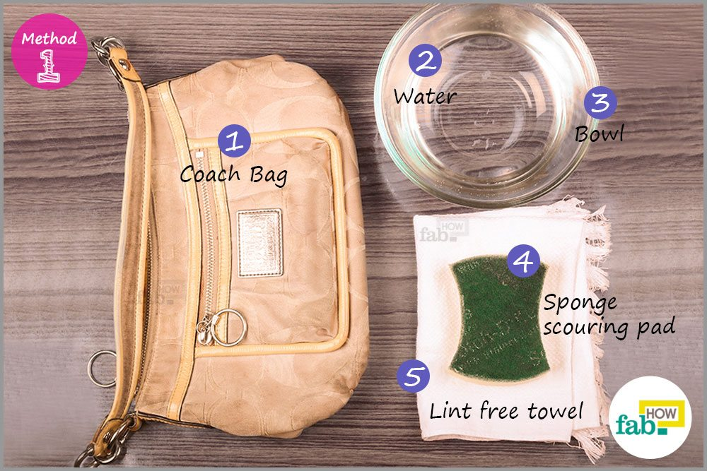 How to Clean Your Coach Handbag and Make it Look New b083e7d8d7