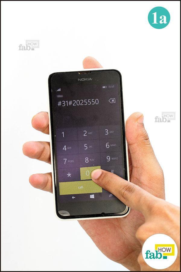 Dial blocking prefix code