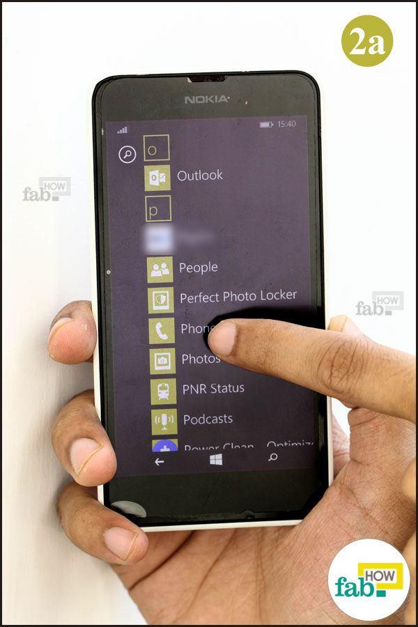 Select phone app