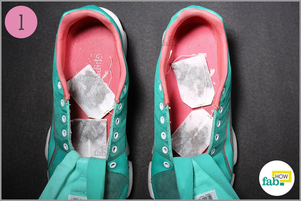 how to get rid of shoe odor fast