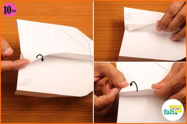 Fold the tailfin