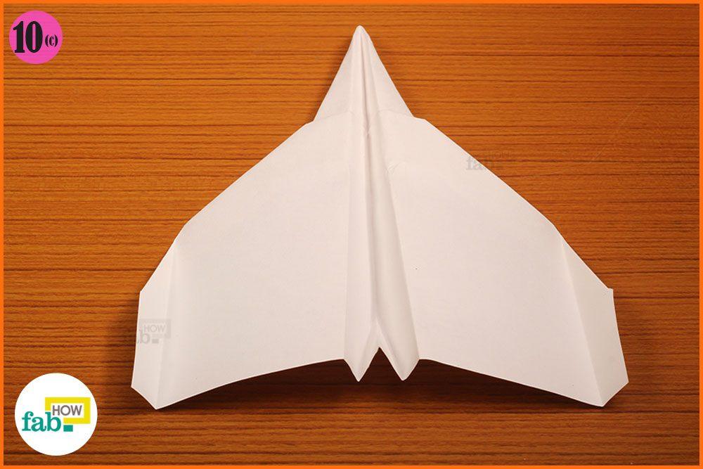 how to make a paper plane that flies far