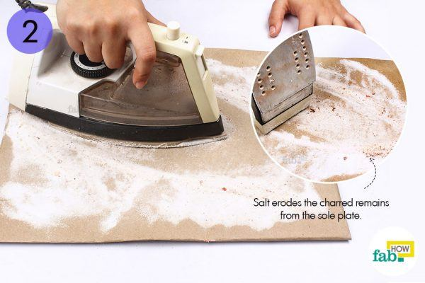step-2-iron-the-layer-of-salt