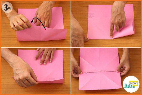 Fold top edge