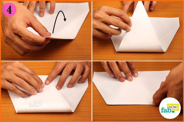 Fold the peak