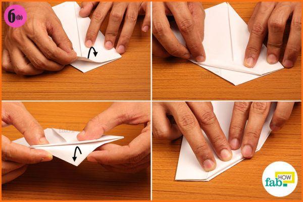 Fold free top corners