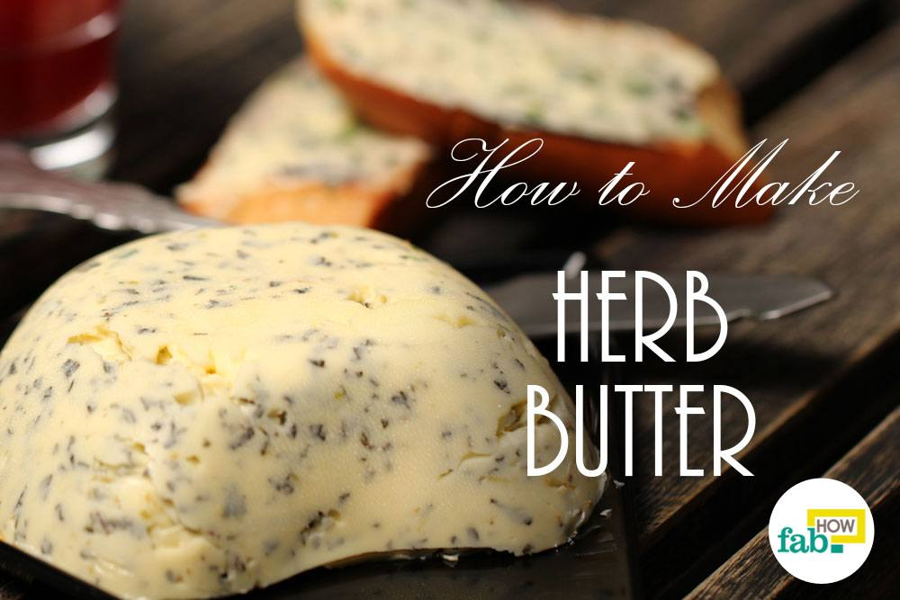 Make herb butter