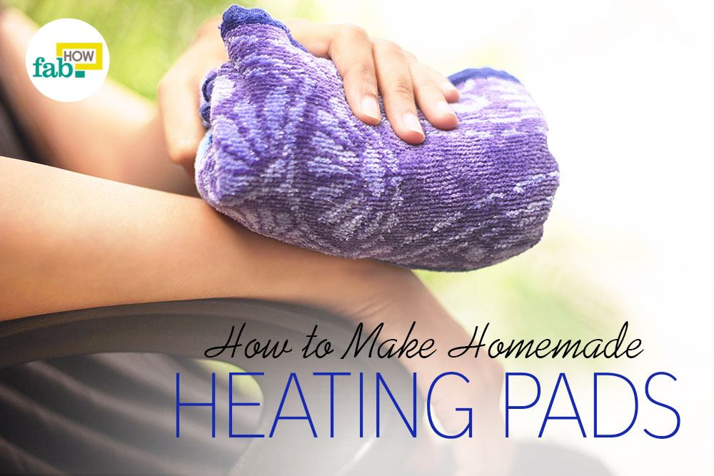 Make pain relieving heating pad