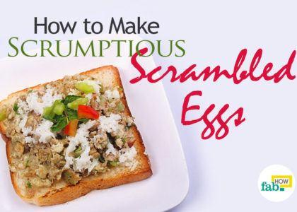 Make scrambled eggs