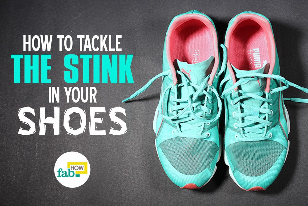 Get rid of shoe odor fast