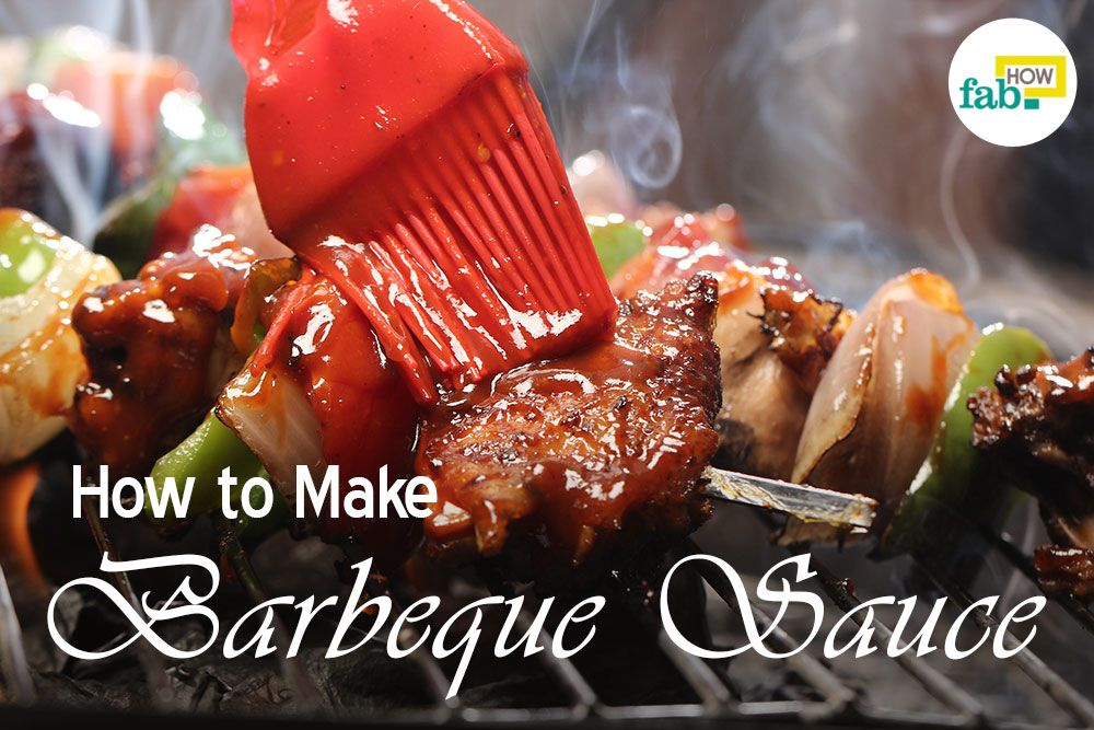 Make barbecue sauce