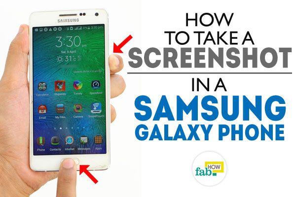 Screenshot samsung galaxy android