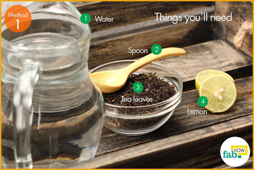 lemon tea how to make