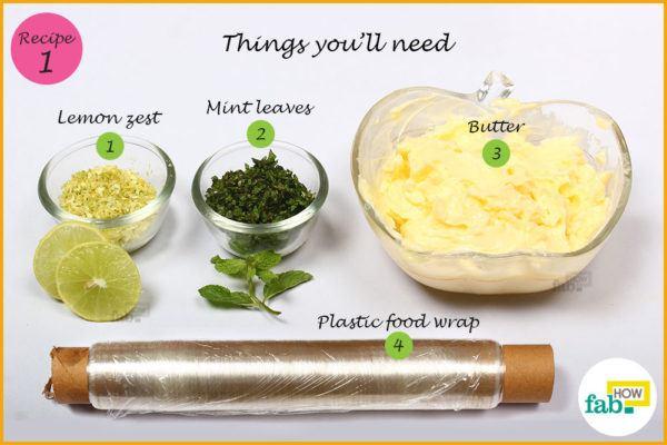Lemon herb butter things need