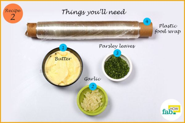Garlic herb butter things need
