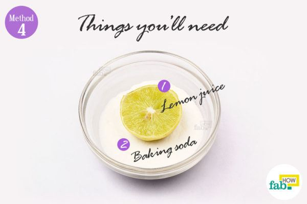 Lemon baking soda things need