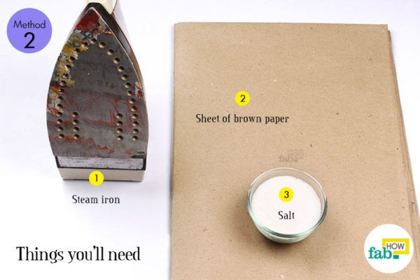 Salt method things need
