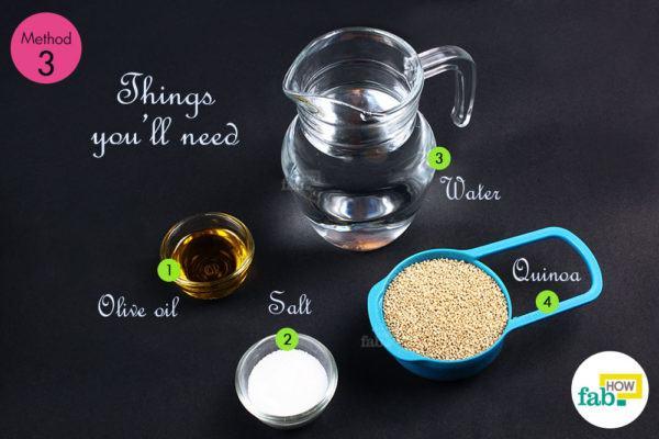 Roasted quinoa things need