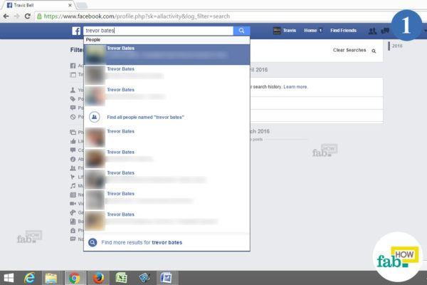 Do facebook search