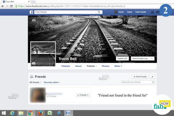 Friend list search