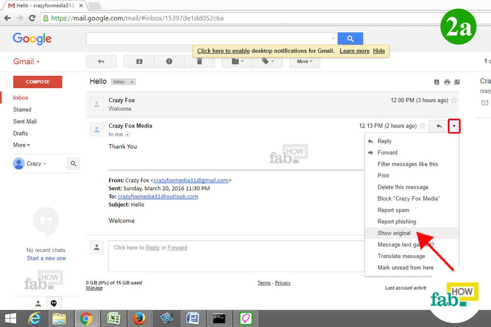 how to find ip address in email header