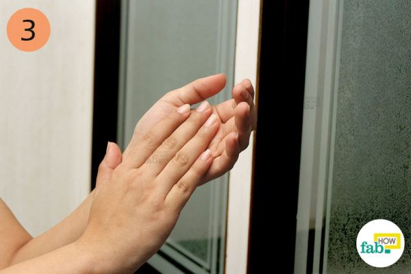 clapping to get rid of negative eneregy