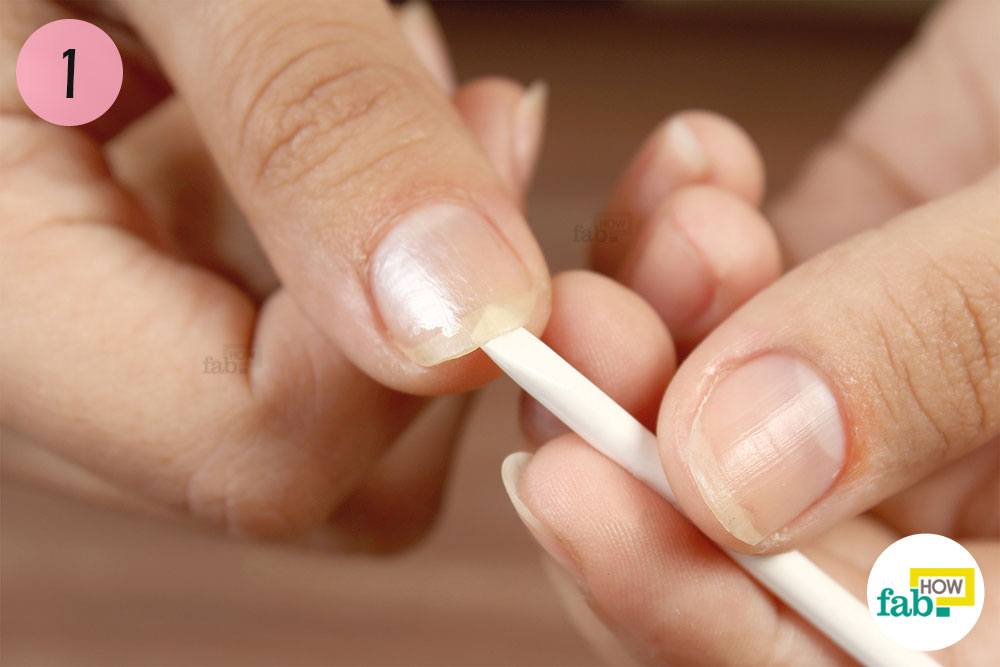 Start By Dealing With The Visible Dirt Aculated Underneath Your Nails Gently Push Out An Orange Stick This Will Not Clean