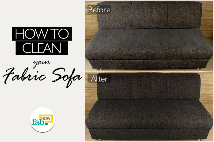 How To Clean Thoroughly Fabric Sofa