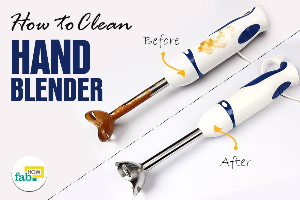 Clean hand blender