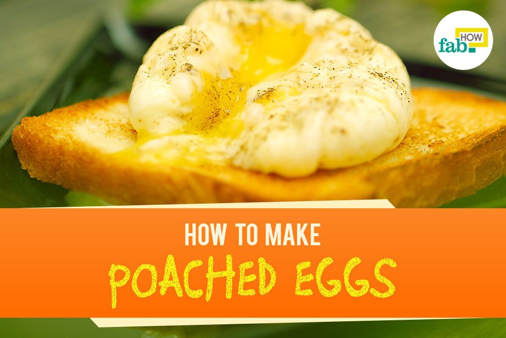 Make poached eggs 4 easy ways