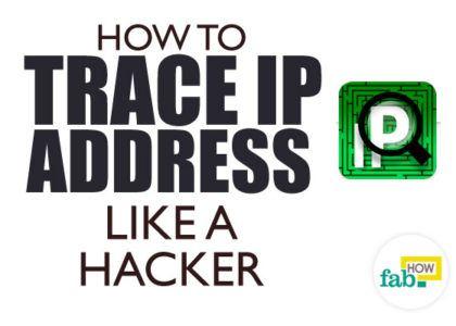 Trace ip address