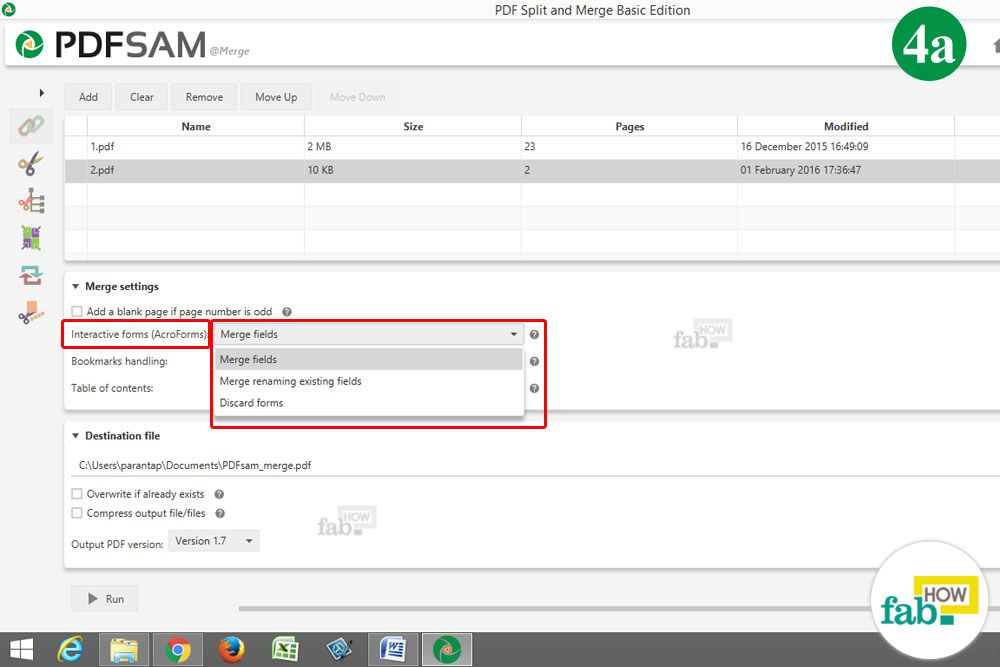 how to merge more than one pdf file