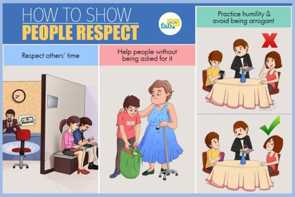 How to Show People Respect