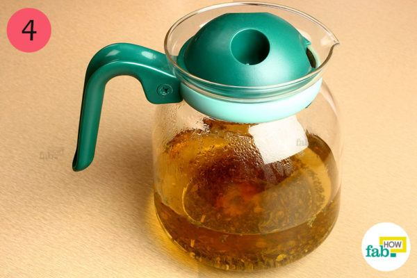 Let the tea steep