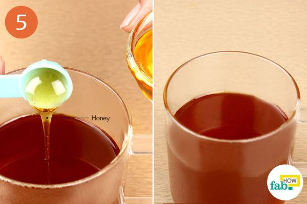 Add honey and enjoy