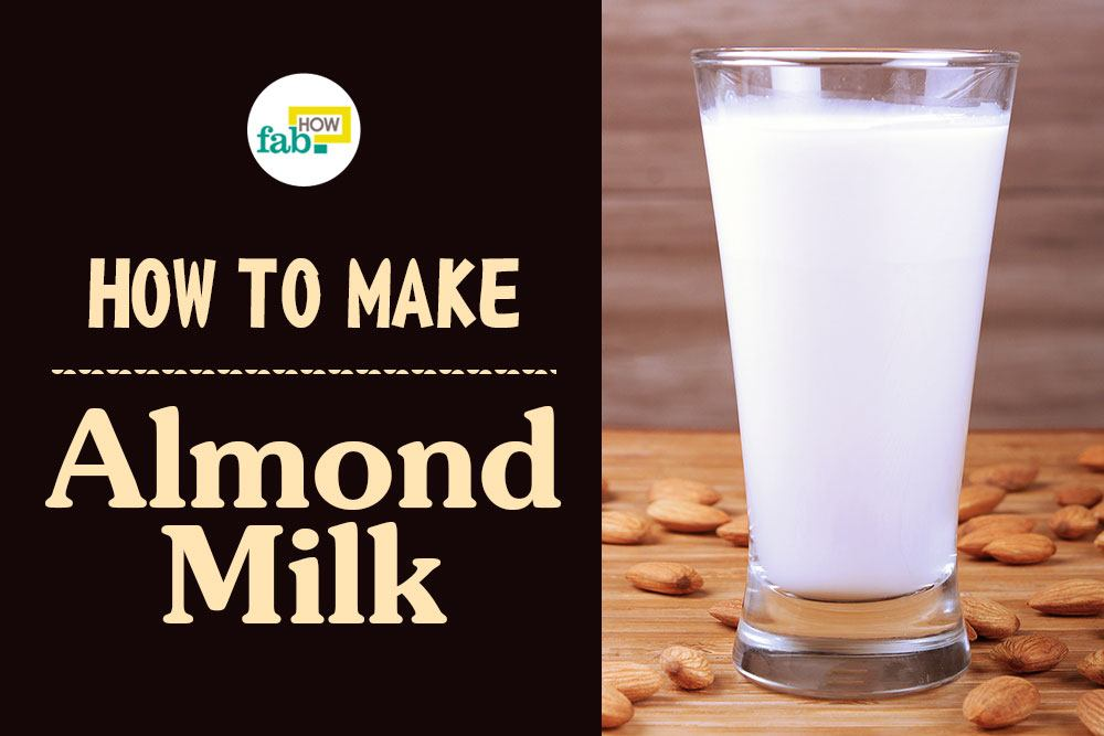 Make almond milk