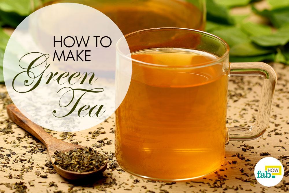 correctly make green-tea