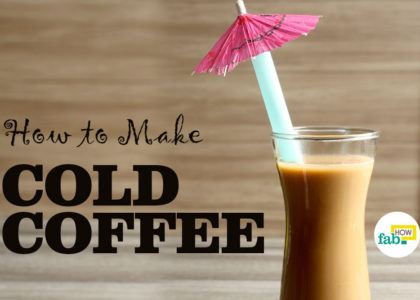 Easily make best cold coffee