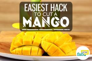 Easiest hack to cut a mango