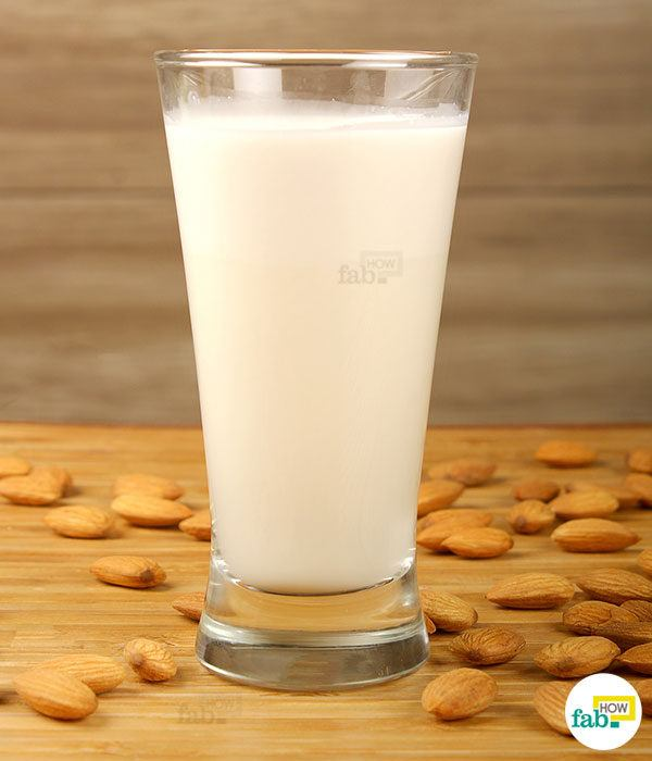 Make almond milk final