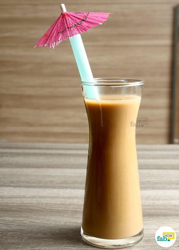 Iced milk coffee final