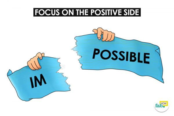 focus on positive side